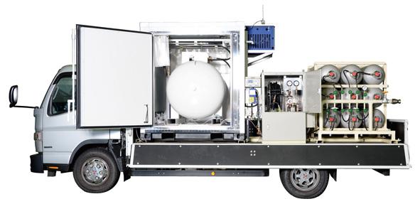 残ガス回収装置